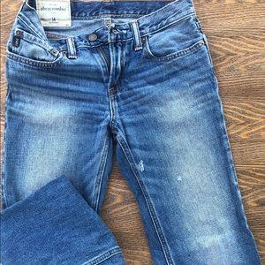 Abercrombie Jeans Sz 14 boys x3 pair & 2 shirts